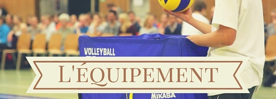 Équipement de volley-ball
