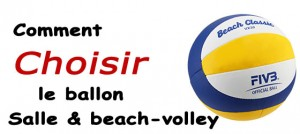 comment choisir le ballon de volley beach-volley