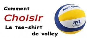 Tee-shirt de volley choisir