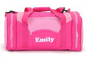 sac de sport rose