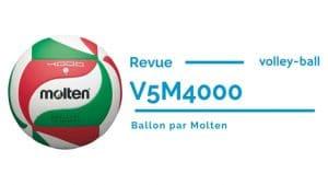 Test du ballon Molten V5m4000