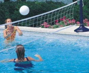 Filet de volley-ball piscine
