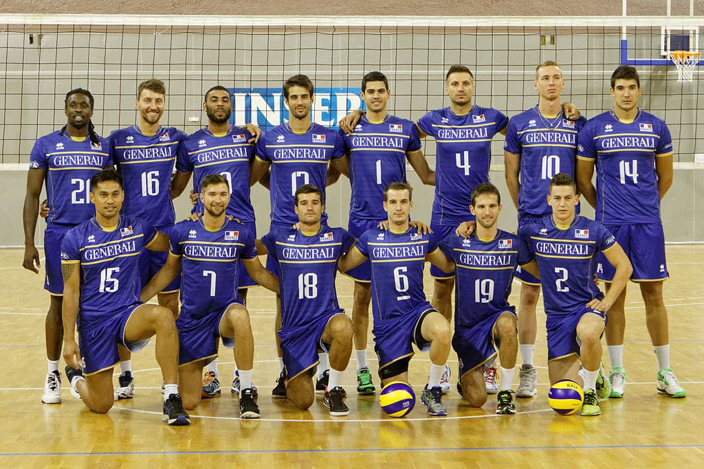 Équipe de france homme Volley